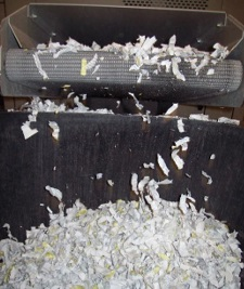 secure off-site shredding at our depot